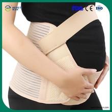 Spandex grossesse abdominale ceinture de soutien de maternité réglable ceinture en cuir directe usine fournisseurs Corset ceinture de maternité
