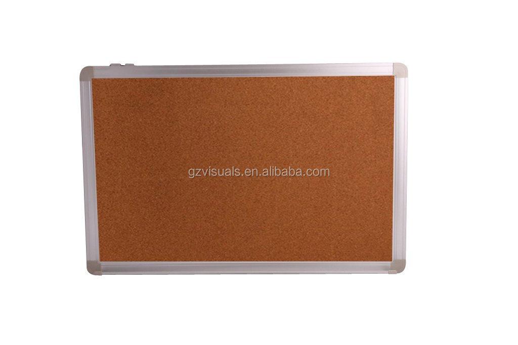 ABS coin décoratif affichage magnétique panneau de liège formes