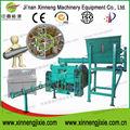Certificación CE residuos reciclaje biomasa aserrín de madera máquina de briquetas