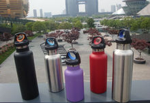 20oz hot sale Hydro double wall stainless steel sport water bottle with PP handle lid