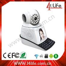 Newest P2P Wireless IP Camera Internet Dual Audio Mobile Phone