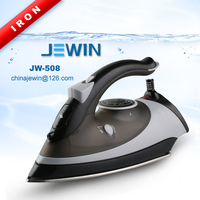 New portable electric dry clean and spray steam iron