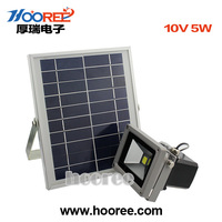 Outdoor Solar Projection Lamp 5W 10W 15W Solae Panel LED Solar Power Spotlight Garden
