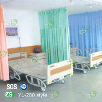 Anti-bacterial Flame Retardant Hospital Curtain in Emergence Room