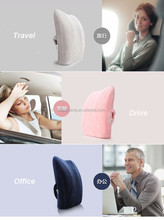 Wholesale Tongue Shaped Memory Foam Backrest Cushion For Cars