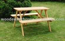 Child Wooden Picnic Table