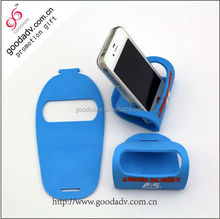 Latest design products phone drop resistance pvc mobile phone holder