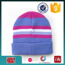 Factory Sale OEM Quality print logo knitted hat wholesale
