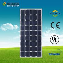 Hefei Bluesun superb iphone solar panels Mono 100W with tuv ce