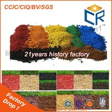 Iron Oxide Red/Yellow/Blue Pigment Powder Wood Mulch