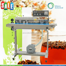 Paper Pouch automatic new design band continuous band sealer shrink wrapping machine
