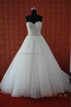 (MY0000AU) Marry You New Collection Romantic Angel Classic Ball Gown Heavy Beaded Arabic Wedding Dress 2015