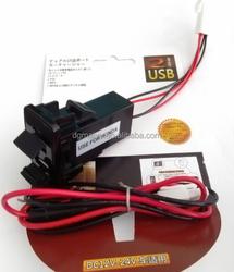 1A+2.1A dual USB 5V 2.1A output FOR toyota honda