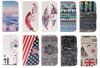 Cross Grain Leather Case For Apple iPod Touch 5, High Quality Flip Case For iPod Touch 5