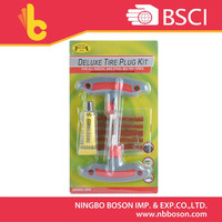 8pc combination tire tool/Hot selling tubeless tire repair kit/Tire puncture repair kit