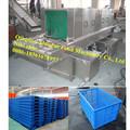 cesta de frutas paletas de plástico lavadora / máquina de lavado de cajas