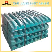 Sandvike/metso Jaw Plate Toggle Plate High Manganese Steel