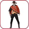 Halloween traje de homem assustador cosplay fantasia de carnaval pgmc- 1883