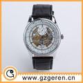 de la manera visible movimiento de reloj mecánico para la venta