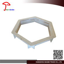 Hot popular classic folding Good design wooden square colorful sand pit