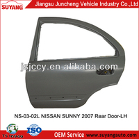 Automotive Spare Parts Rear Door for NISSAN SUNNY 2007 Model