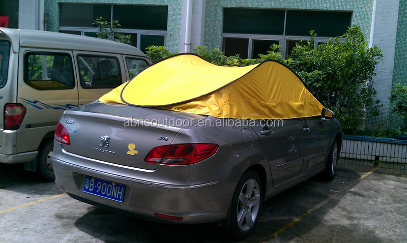 pliage tanche couverture de voiture tente pop up couverture de voiture pour 4 places voitures. Black Bedroom Furniture Sets. Home Design Ideas