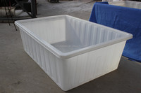 1000 liters supply OEM rotational plastic cattle/horse/pig water feed trough