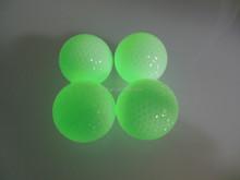 Green luminous fluorescent Golf Ball for Dark Night Play