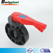 pvc true union pipe check water butterfly valve for import