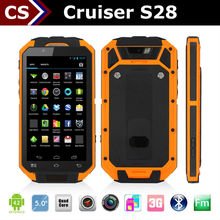 Cruiser S28 Quad core Dual card 8mp camera waterproof IP67 rugged android phone