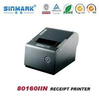 80mm thermal Dot Matrix receipt printer/mini portable cheque printing printer`