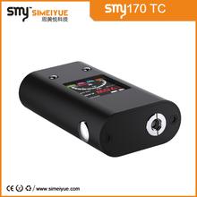 2015 SMY new vw/vv fashion box mod big color screen innovative box mod smy170