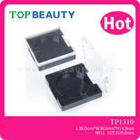 TP1310- Square Plastic Cosmetic Clear Compact Case