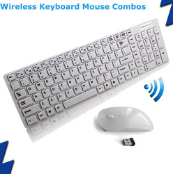 2.4Ghz Wireless Keyboard Mouse Combos for apple mac