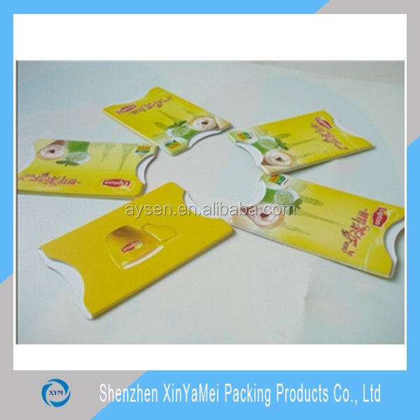 PVC business credit card holder