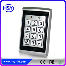Metal case standalone rfid door access control with keypad