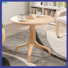 birch bentwood small table in dressing room or waiting room