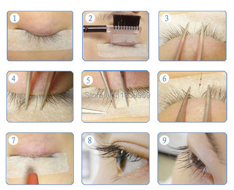 High Quality Natural Individual False Eyelashes 0.15mm C Curl imitate Mink Eyelash Extension Makeup 3d Human Hair Eyes Lashes