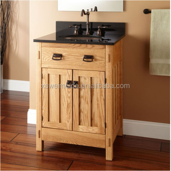 Wall mounted drawer oak bathroom vanity cabinet solid wood bathroom cabinet buy classical Solid wood bathroom vanities cabinets