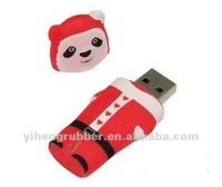 Bulk cheap silicon 4GB USB flash drives 4GB silicon USB bracelet