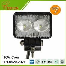 led truck work lights 20W C-r-e-e led working light for all general cars