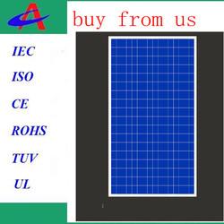 Yuyao portable top quality 110 watt poly solar panel