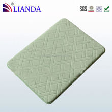 polyester microfiber bathroom mat, prints floor mat, pvc bath mat
