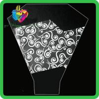 wholesale plastic transparent sleeves custom plastic flower pot sleeves