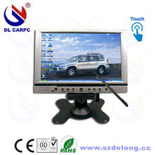 Sales Promot 7 Inch Black LCD Touch Screens Car Monitor Fanless Mini Computer Monitor Touch 7