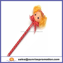 High Quality Cute Promotional Doll Pen