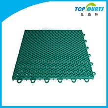 Outdoor volleyball court floor mat