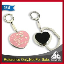 Premium wedding gift heart shaped foldable purse hook