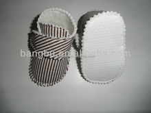 beautiful cute stripe infant and baby shoes