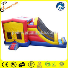 Giant and high quality bouncy slide/bounce house places/outdoor play toys